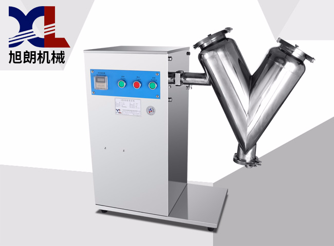 V-shape mixer machine